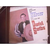 Daniel Santos Lp Los Exitos De Jose Alfredo Jimenez En La Vo