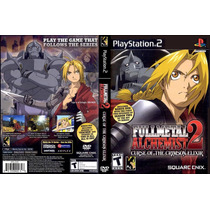 Full Metal Alquemist 2 Curse Of The Crimson Elixirl Ps2 *