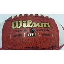Balon De Futbol Americano De Piel Wilson Tdj Junior