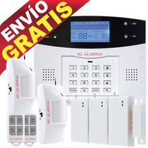 Alarma Gsm Digital Lcd Inalámbrica, Casa Negocio Hm4