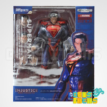 Sh Figuarts Superman Injustice Ver. En Mano!!!