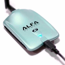 Adaptador De Red Wifi Alfa Awus036nh 2000mw 5dbi Usb 2.0