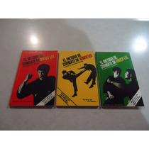 El Método De Combate De Bruce Lee (lote De 3 Libros)