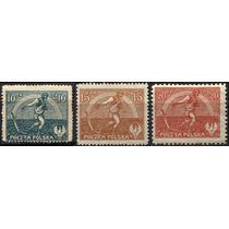 2477 Polonia Sembrador Scott #154 3 S Mint N H 1921