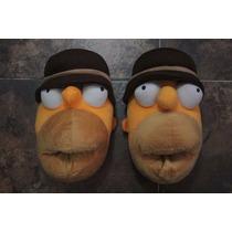 Homero Simpson Pantunflas