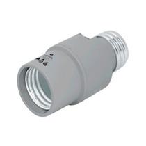 Portalampara De Policarbonato Sensor De Luz Voltech 46534