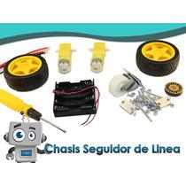 Chasis Seguidor De Linea Arduino