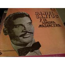 Disco De Acetato De Daniel Santos Y La Sonora Matancera Trip