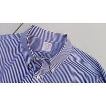 Camisa Casual Brook Brothers Tallas Extra 2xl Cuello 18.5