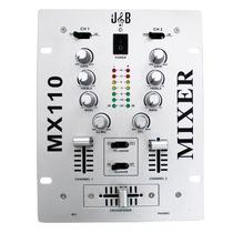 Mixer Mezcladora Profesional Dj 2 Canales J&b