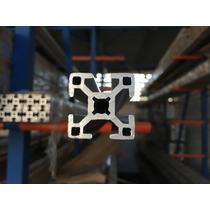 Perfil De Aluminio Estructural 30mm X 30mm Anodizado
