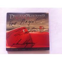 Disco Autografiado Por Dream Theater