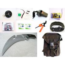 Kit Supervivencia 6624 Contiene 26 Piezas Envio Dhl Incluido