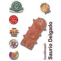 Condón Engrosador De Pene, Textura Saurio Delgado 13cm (158)