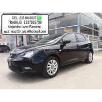 Seat Ibiza 1.2 Turbo Std 2015 Negro Super Oferta...!!!!