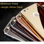Funda Iphone 4 4s, 5c 5s, 6 (4.7) 6 Plus Bumper Aluminio