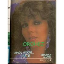 Verónica Castro Anuncio ¡ Mala Noche No! En Revista De 1988