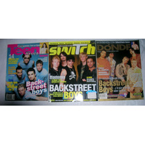 Backstreet Boys Tres Revistas Mexicanas Oferta 3x1
