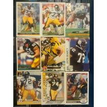 9 Tarj Linieros Ofensivos Steelers Lote 617 Rnt