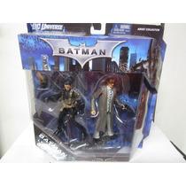 Paquete Doble De Figuras De Batman Legacy Dc Universe Coleci