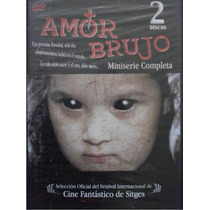 Dvd Miniserie : Amor Brujo / Set 2 Dvd´s / Ricardo Islas