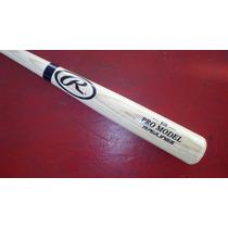 Bat Beisbol Madera Fresno Rawlings Pro Model B243