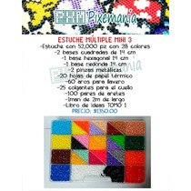 Perler Beads - Estuche Múltiple 3 Mini
