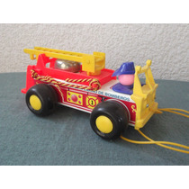 Camion De Bomberos Antiguo