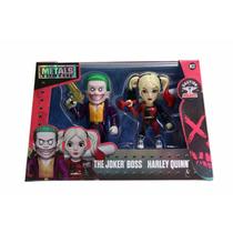 Escuadron Suicida Set Joker Y Harley Quinn Die Cast Metals