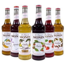 Jarabes Monin Para Soda Italiana Y Para Capuchino De Sabor.