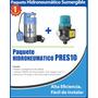 Bomba Presurizadora Sumergible 1.3 Hp Con Kit De Presión Hgm
