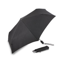 Sombrilla Knirps Equipaje Plana Duomatic Umbrella Negro, Un