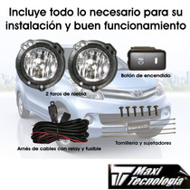 Kit Completo Faros De Niebla Para Toyota Avanza 2013 2014