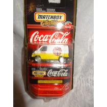 Coca Cola Matchbox Escala 1/64 Ford Transit Van 1955