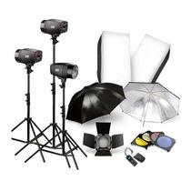 Kit Profesional Para Estudio Fotografico.