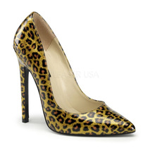 Zapatillas De Leopardo 15cm Tacon Pin Up Sexy-20