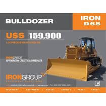Bulldozer Iron D65 Tractor Topador