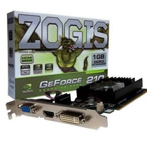 Tarjeta De Video Zogis Zo210-1gd3hp Gt210 1gb Ddr3 Pcie2.0