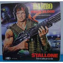 Rambo Disco Acetato First Blood