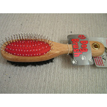 Cepillo Del Perro - Doble Cara Grooming Grande James & Steel