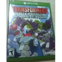 Transformers Devastation Nuevo Sellado Xbox One Xb1 Optimus