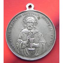 Medalla Mexico Sagrado Corazon Apostolado 1900