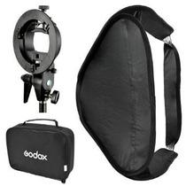 Bracket S Godox Montura Bowens Con Softbox 80x 80cm