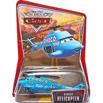 Cars Disney Dinoco Helicopter. W.o.c.