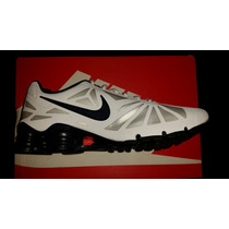 Tenis Nike Shox Turbo 14 Talla 28 Blancos Nuevos Originales