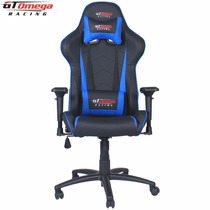 Silla Gt Omega Pro Racing Office Chair Black Next Blue Leath