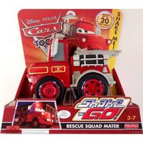 Cars Disney Rescue Squad Mater. Shake Go. Toon.