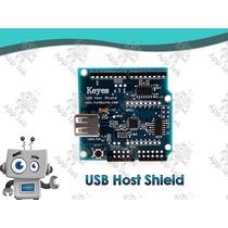 Shield Usb Host 2.0 Arduino Uno R3 Mega Leonardo Due