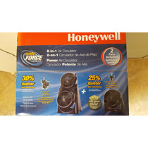 Super Combo 2 Ventiladores Honeywell Turbo Force Power 2en1