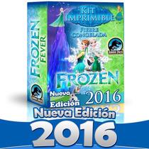 Kit Imprimible Frozen Fever Invitaciones Candybar Nuevo 2016
